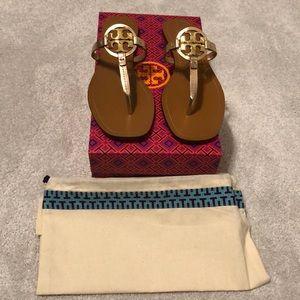 NIB Tory Burch Mini Miller thong Sandals size 9